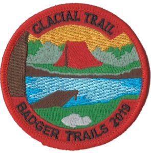 2019 Gracial Trail Hike Patch