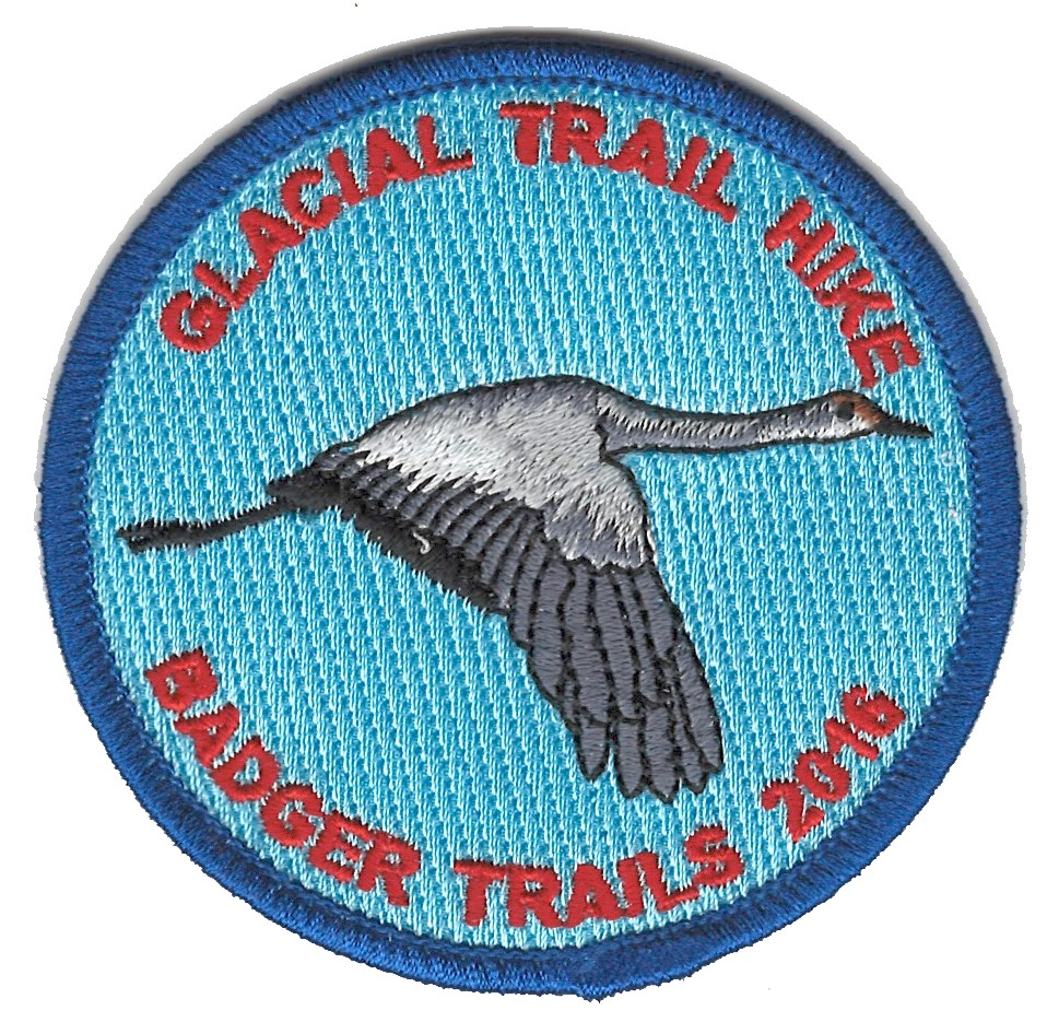 Badger Trails Glacial Trail Hike Patch 2016