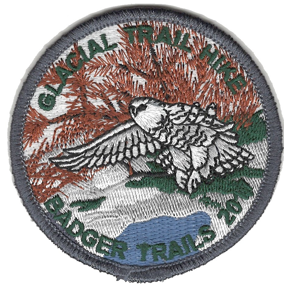 Badger Trails Glacial Trail Hike Patch 2017