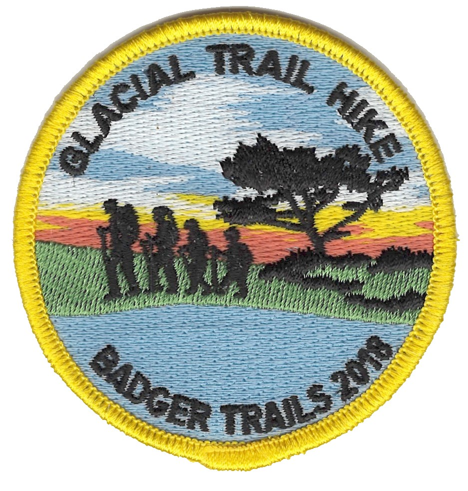 Badger Trails Glacial Trail Hike Patch 2018