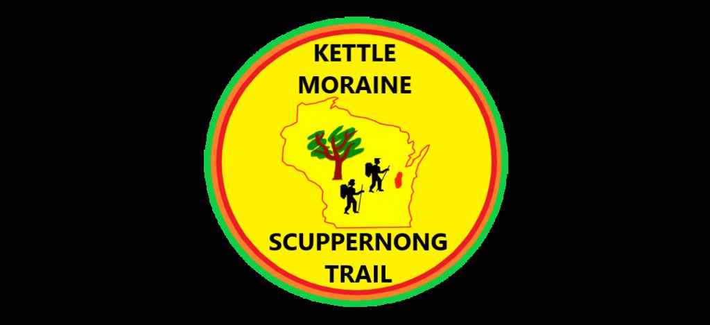 Badger Trails Scuppernong Hike Logo