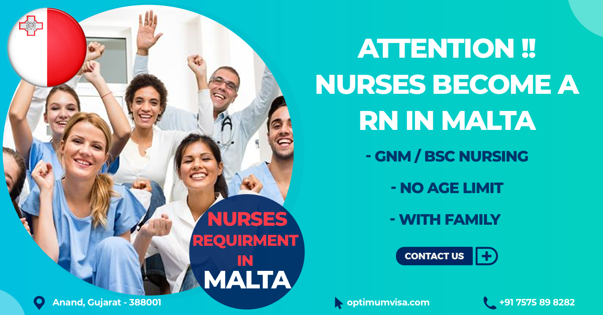 Nurses to Malta