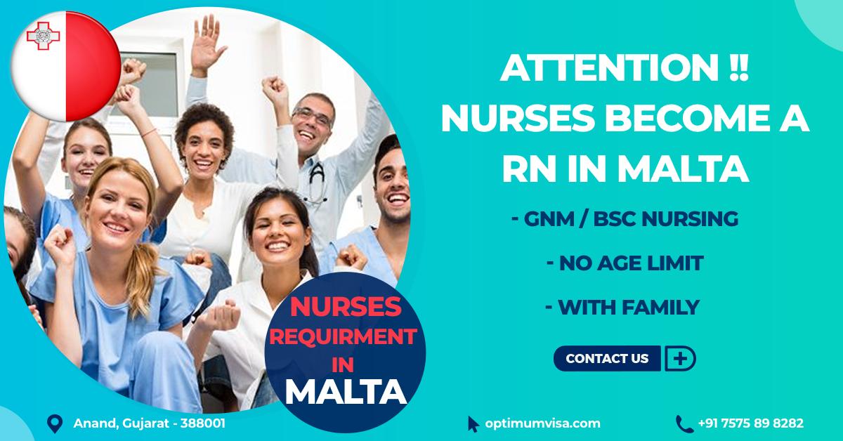 Nurses to Malta