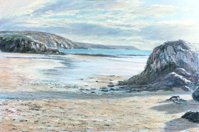 Seascape Painting Cornish Art
