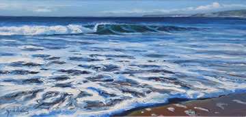 Across-Mounts-Bay---Oil-on-Canvas--30-x-60-cm-