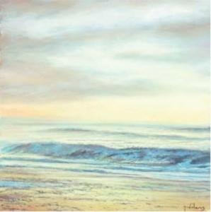 Gentle Dawn 400mm x 400mm, oil on canvas