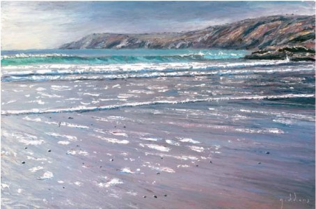 Low Tide, Kennack Sands 500mm x 760mm, oil on canvas