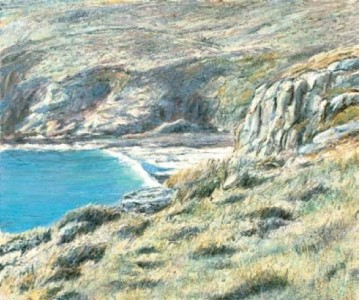 Secret Cove 500mm x 610mm, oil on canvas,
