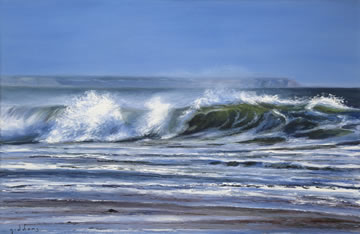 Shorebreak--Oil-on-Canvas--60-x-90-cm-