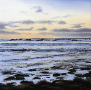 Sound of the Morning Tide(500mm x 500mm)