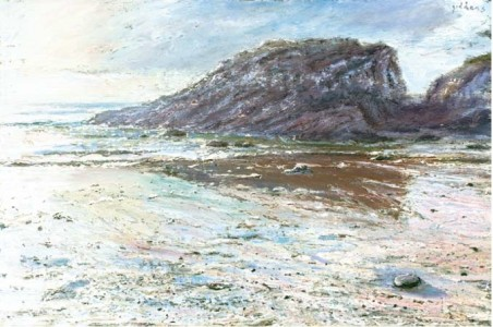The Rock, Kennack Sands 600mm x 910mm, oil on canvas