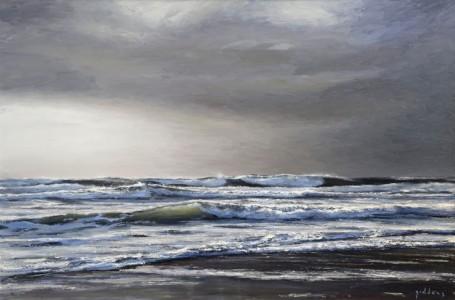 Winter Sea,Praa Sands(600mm x 900mm)