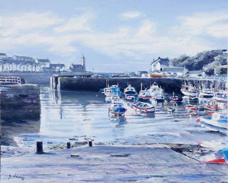Porthleven Harbour by Andrew Giddens