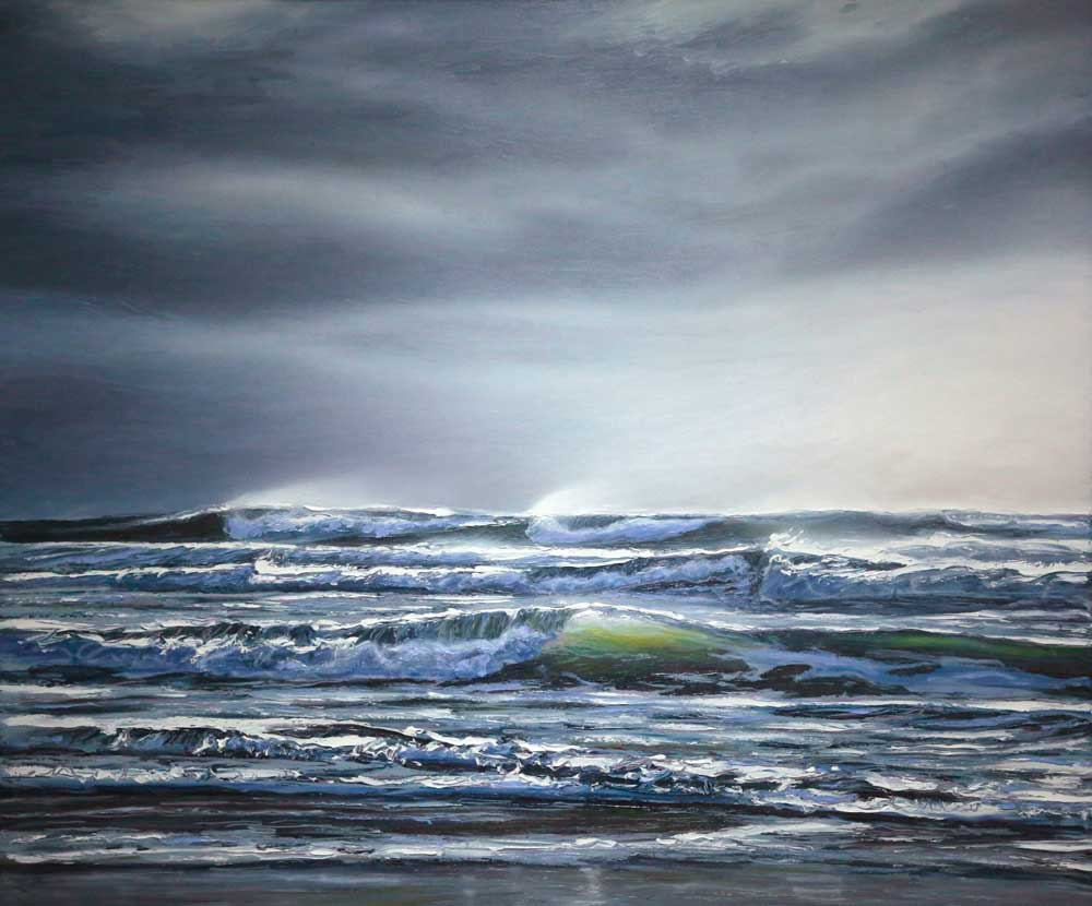 stormy seas Andrew Giddens