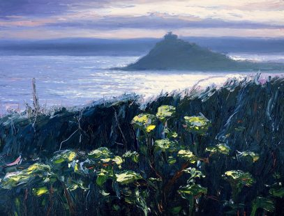 Evening light Mounts Bay by Andrew Giddens