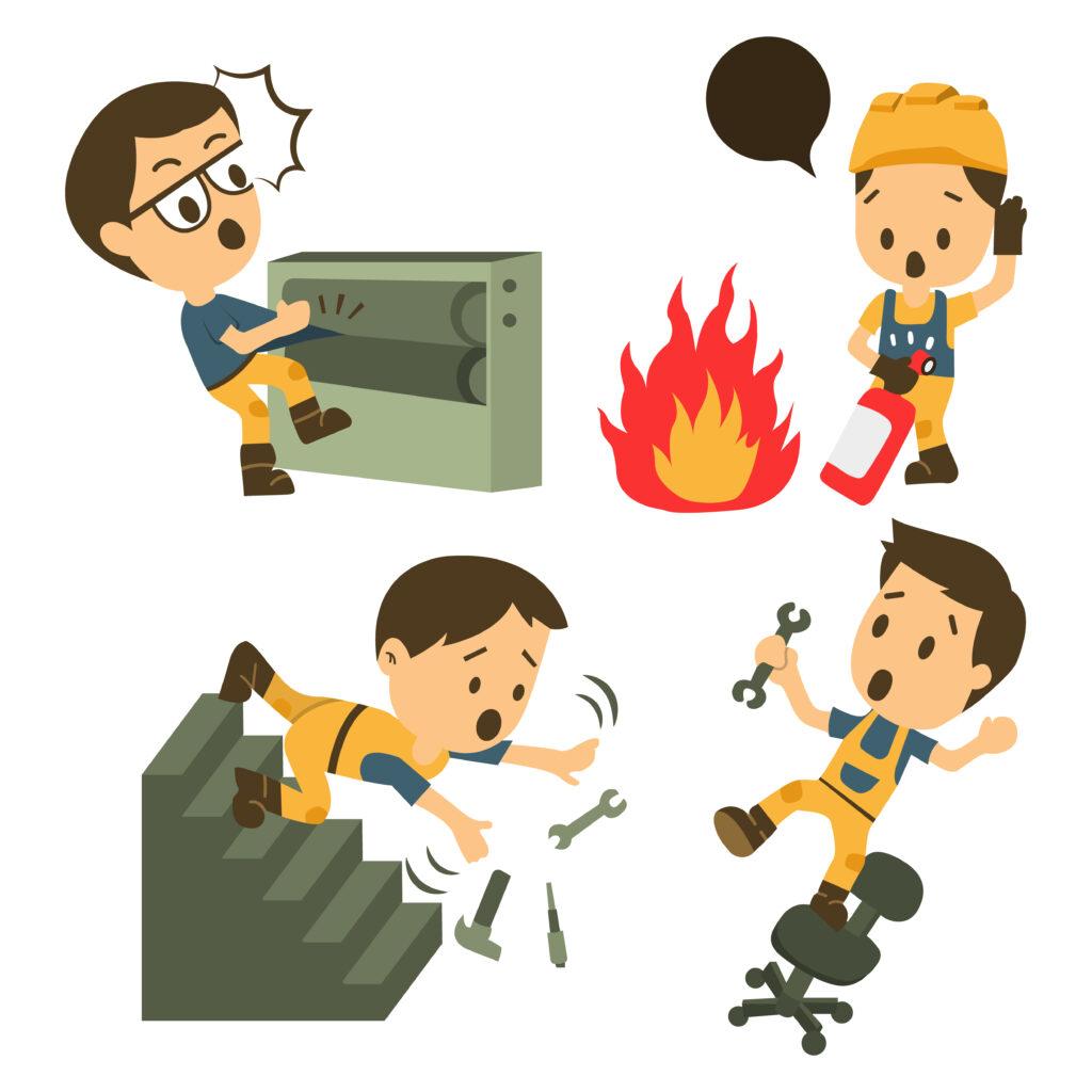 万博游戏平台网址AGI玻璃集建筑工人,事故作业,安全第一,痊愈