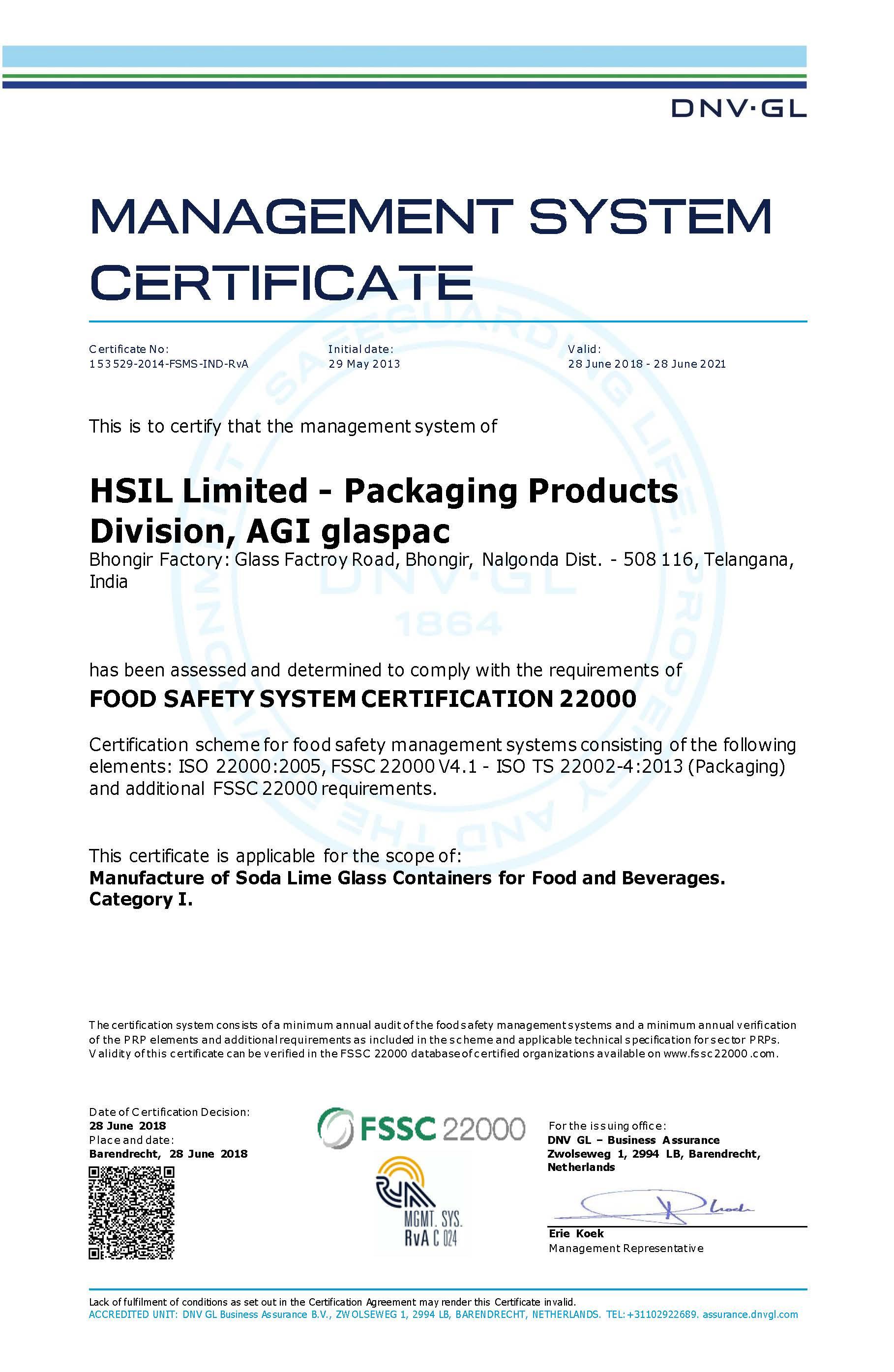 Bgr Certificate 1