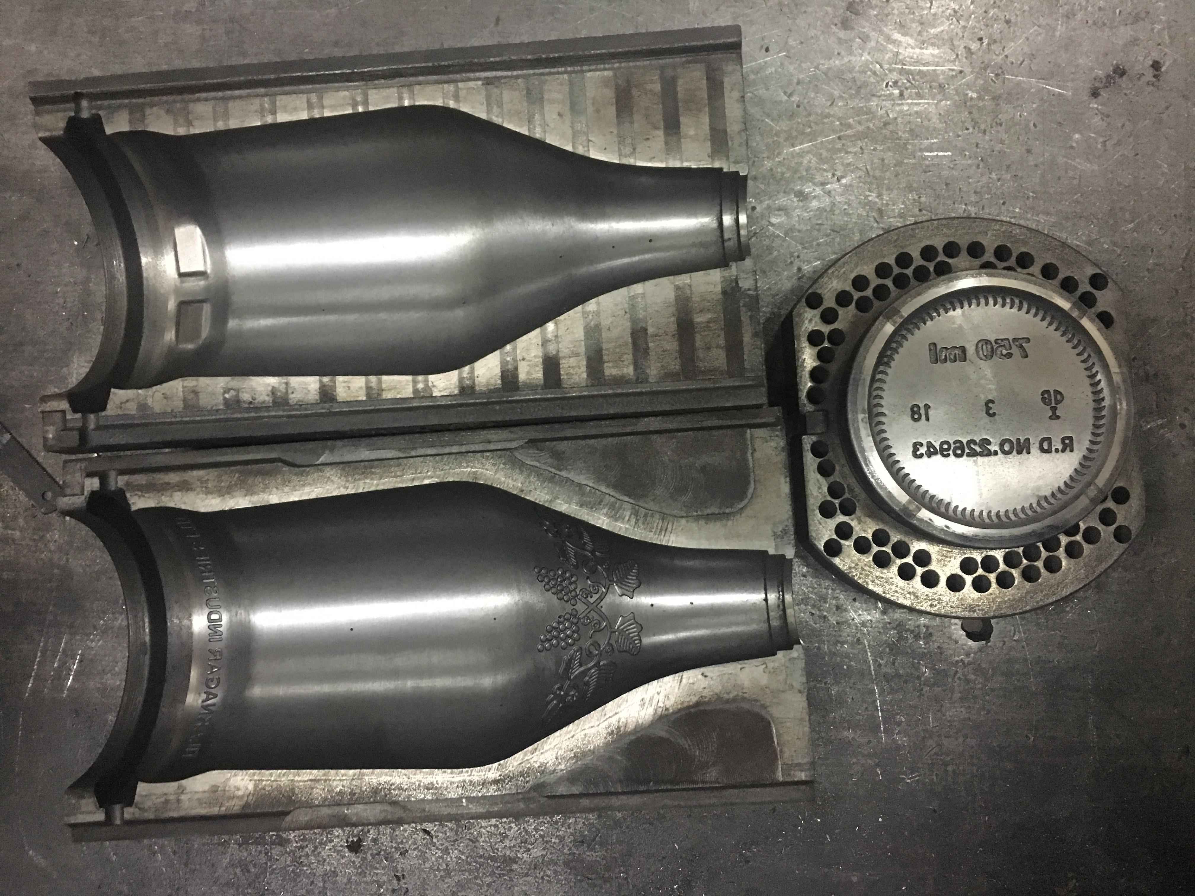 AGI glaspac mould