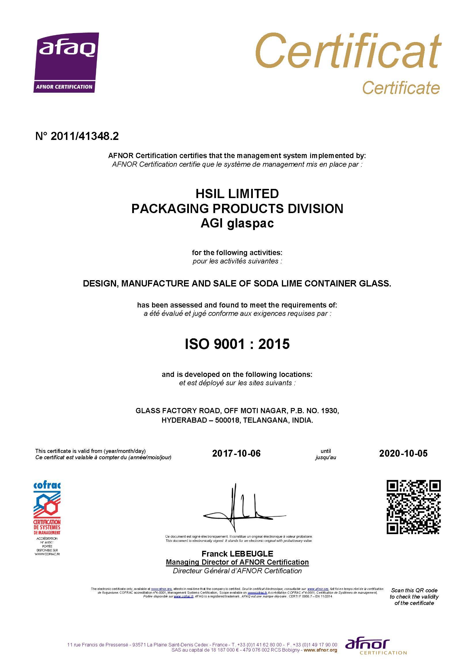 Hyderabad certificate 2