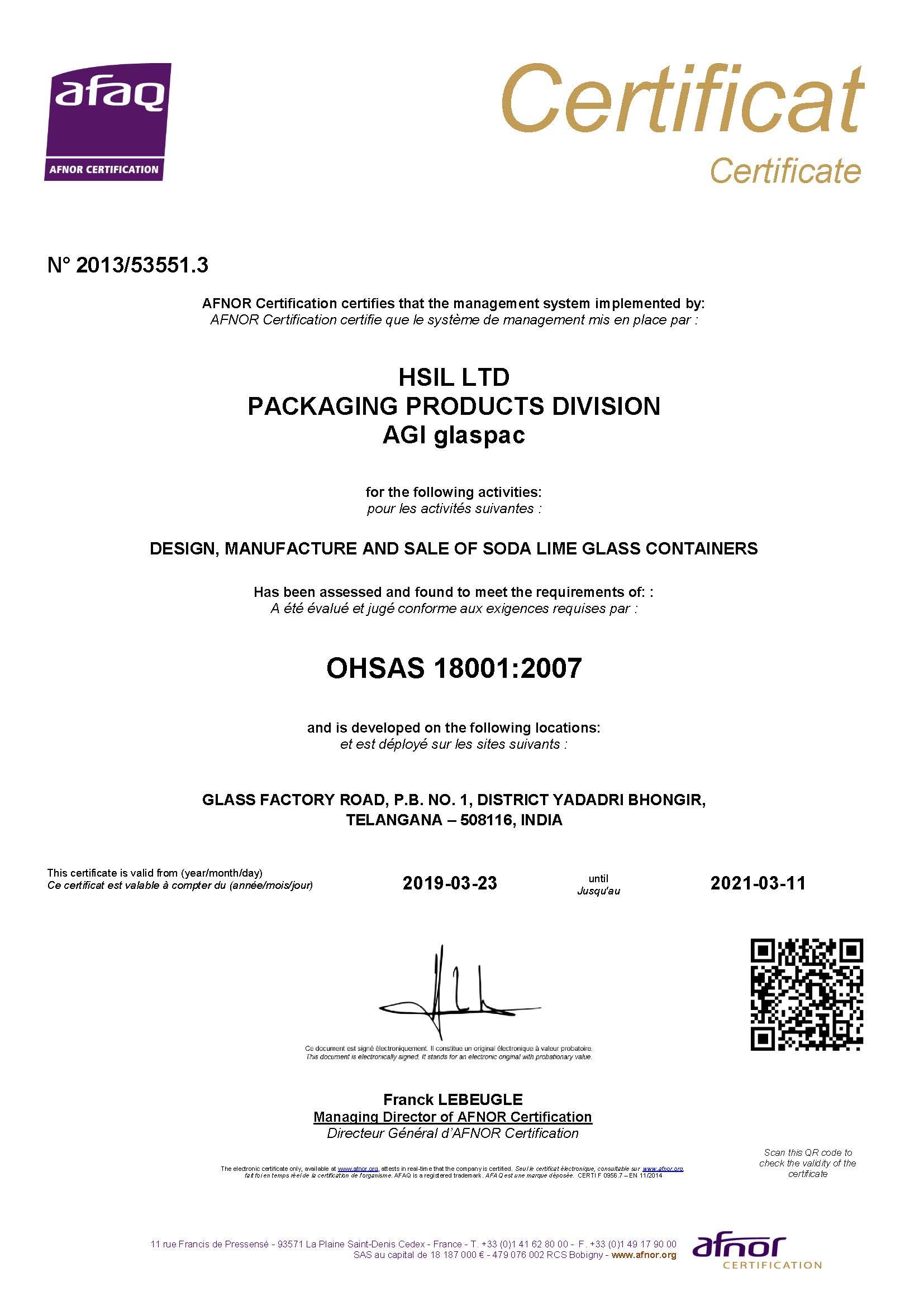 Bgr Certificate 5