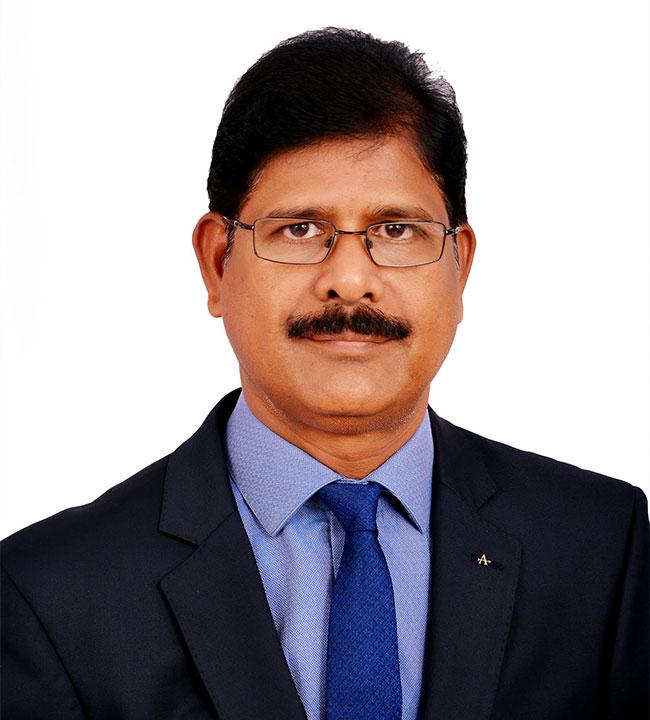 Mr. T V Rao, AVP - PPC