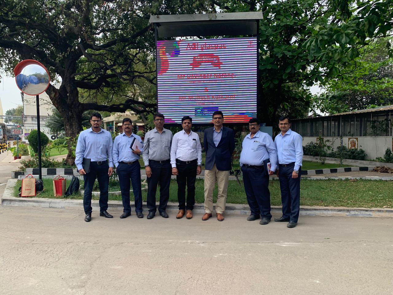 Mr. Davinder Narang and Mr. Mahesh Kulkarni From Global Green Company Limited