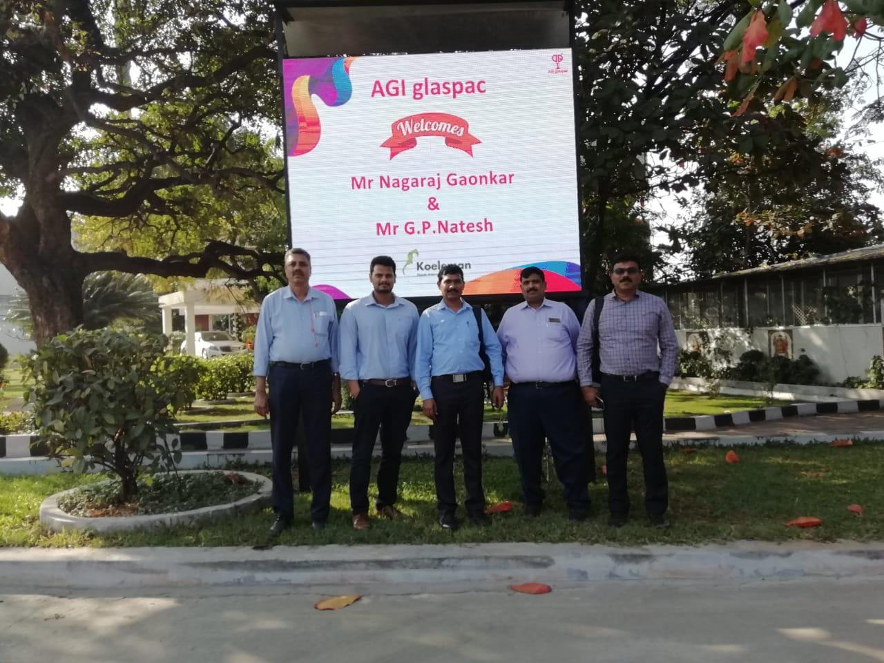 Koeleman公司的Nagaraj Gaonkar先生和G P Natesh先生