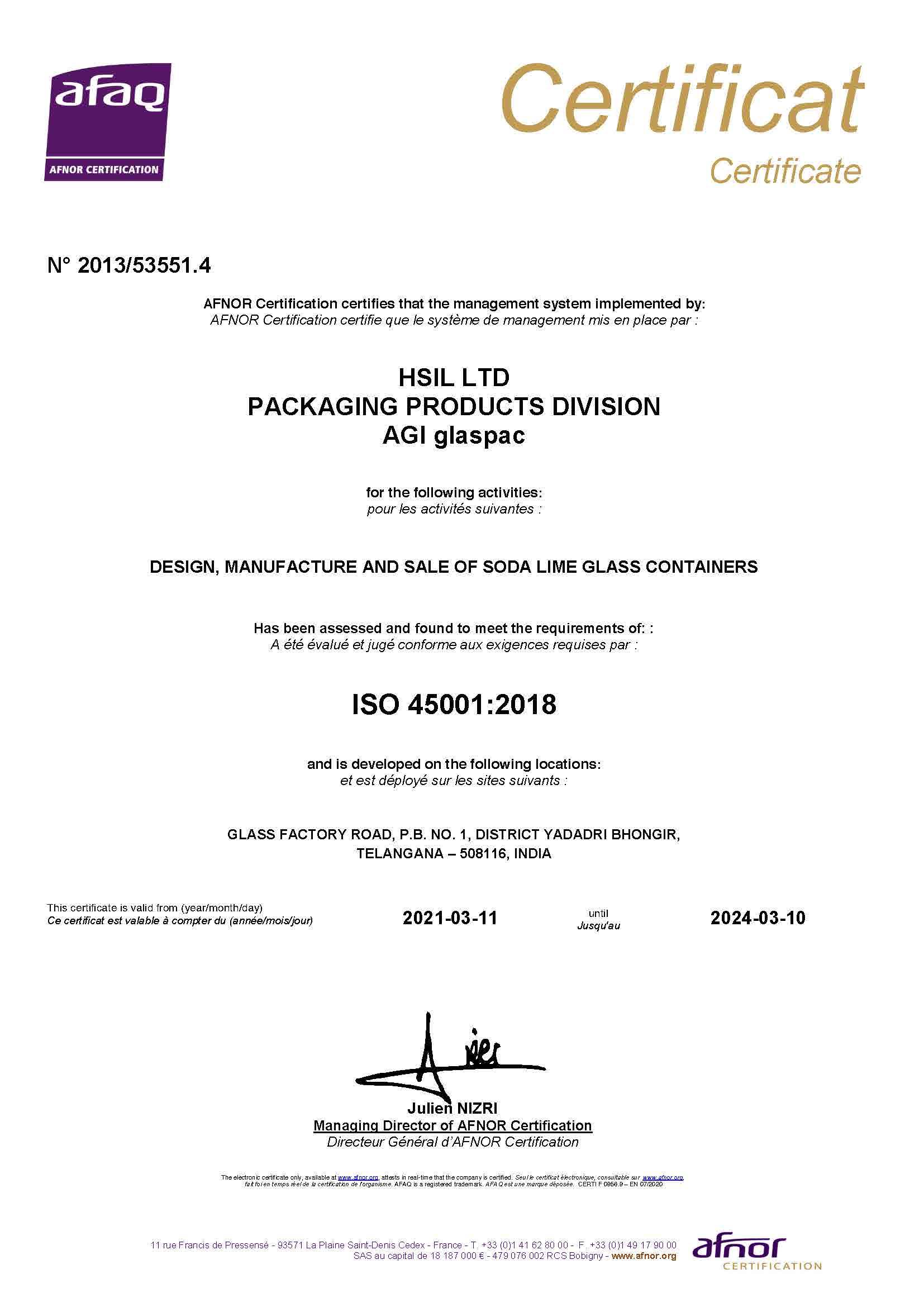 Bhongir-New-Certificate-45001:2018
