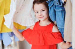 kids closet, girl