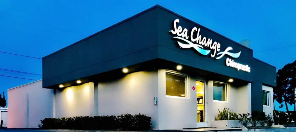 sea change chiropractic building photo