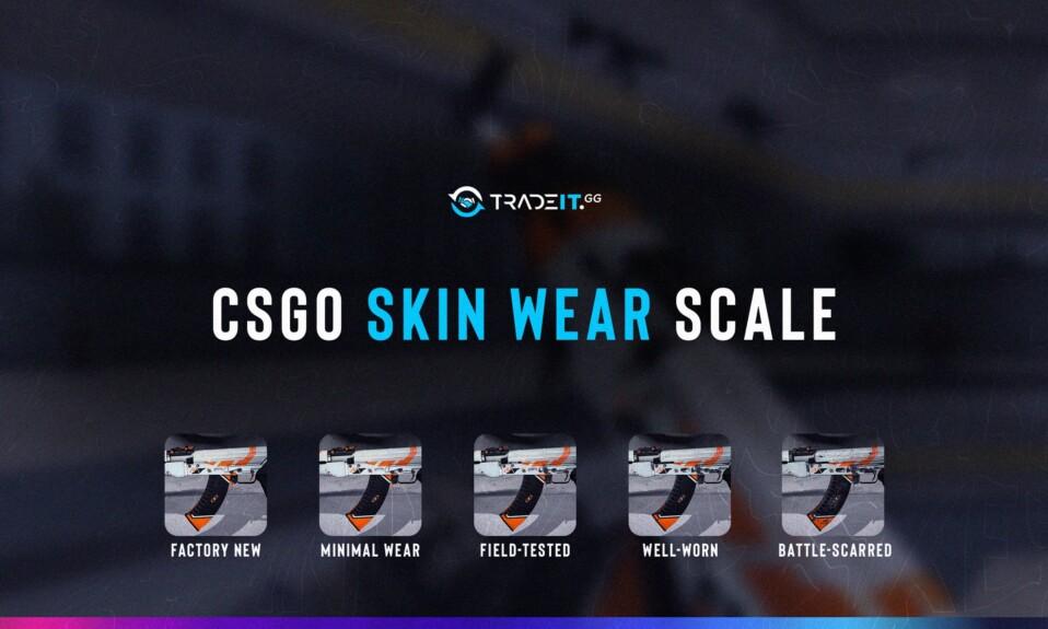 csgo skin wear scale
