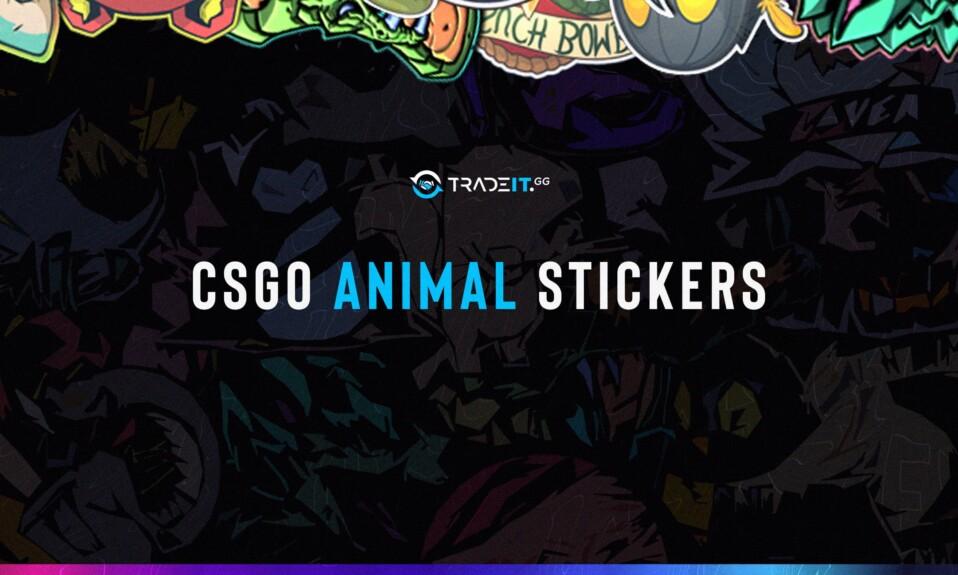 csgo animal stickers