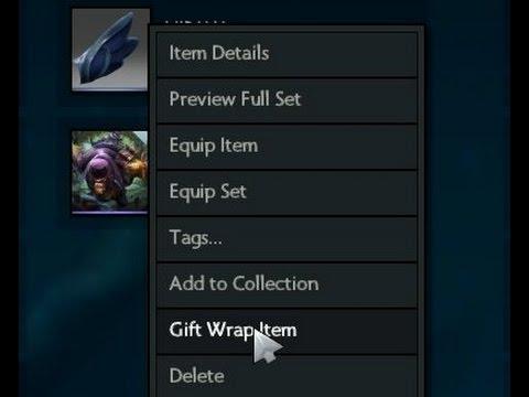 dota 2 giftable items trade