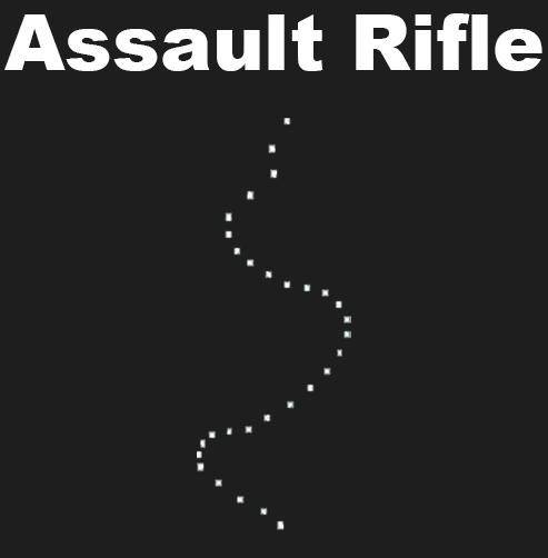 rust assault rifle spray pattern