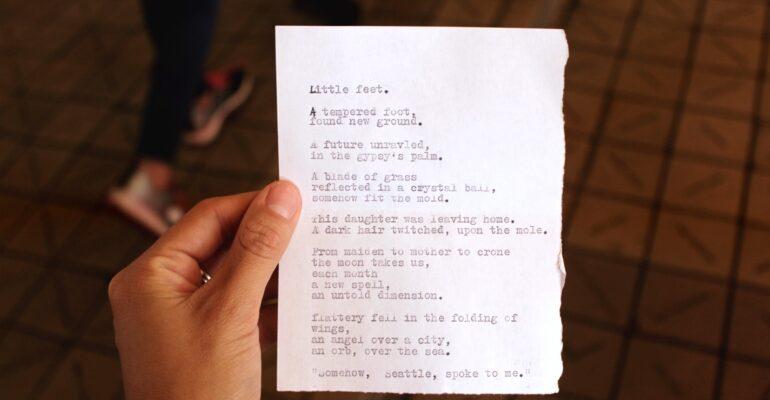 WriteSome app to write poems