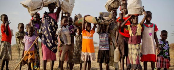 The conflict in South Sudan, where food insecurity will affect 7.5 million people this year