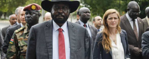 George Clooney-backed report: South Sudan president profits from civil war