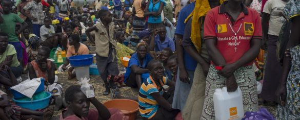 Tensions in Uganda after funding delays lead to reduced food rations for refugees