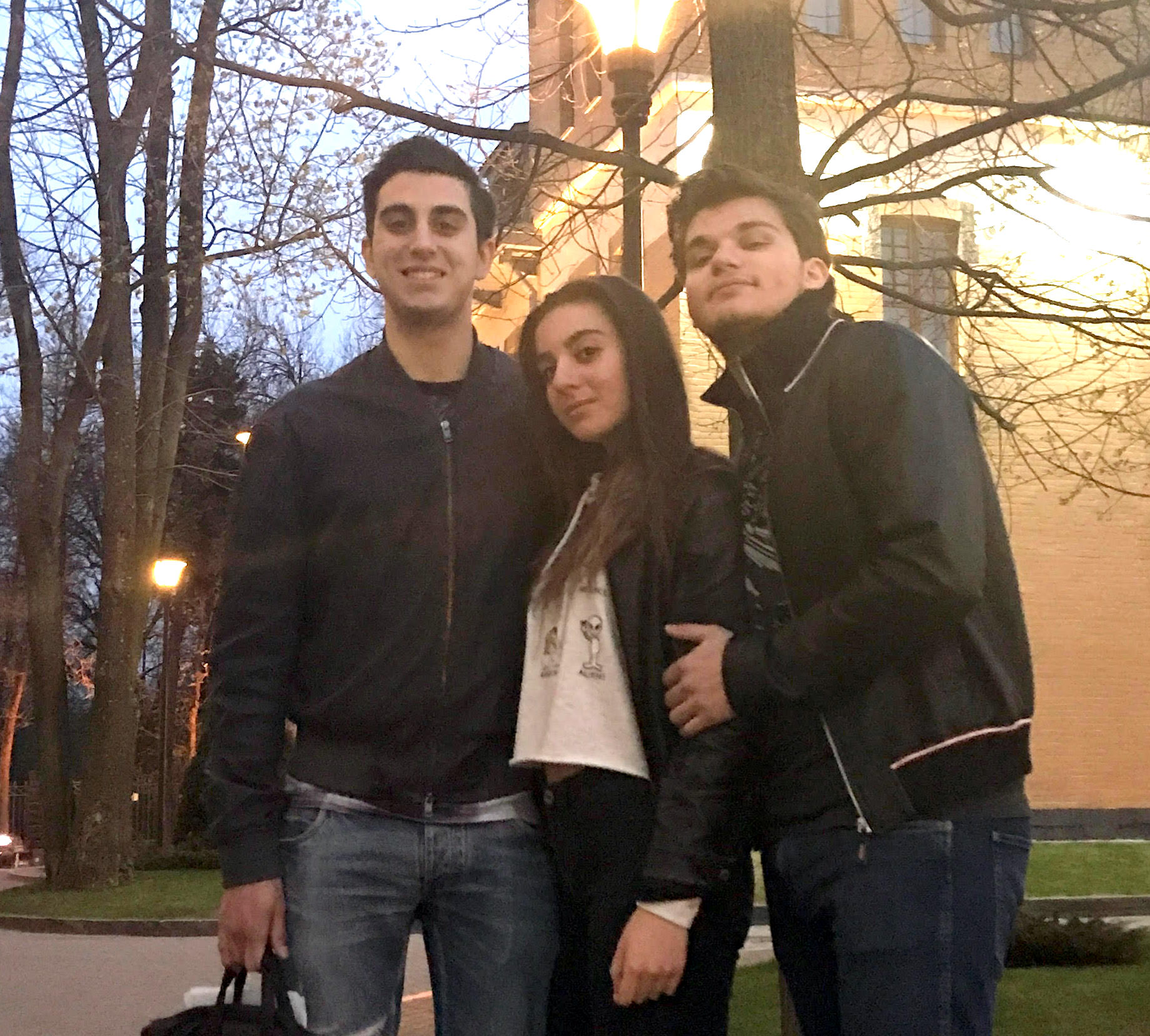 Igor, Maria & Nikita