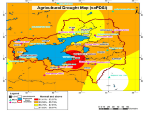 AGRICULTURAL DROUGHT MAP