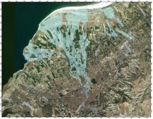 BURDUR BASIN FLOOD DEPTH MAP