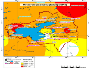 METEOROLOGICAL DROUGHT MAP