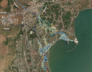VAN LAKE BASIN FLOOD RISK MAP