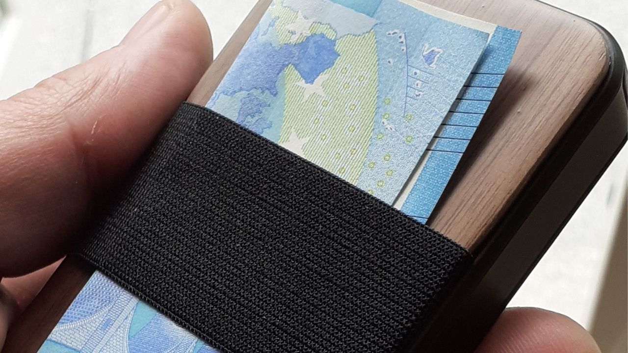 RFID card holder men