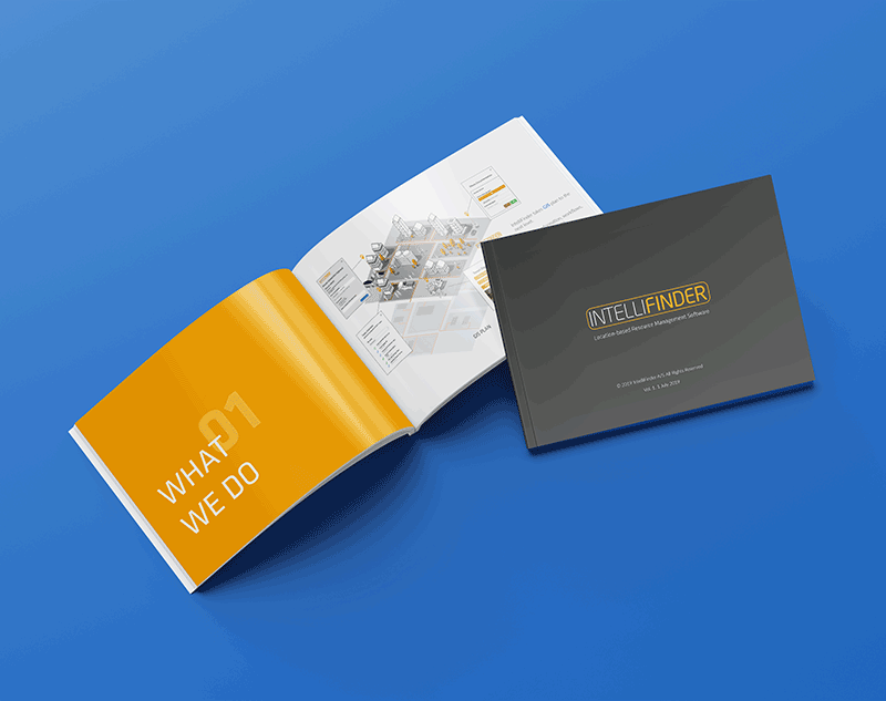 IntelliFinder brochure design
