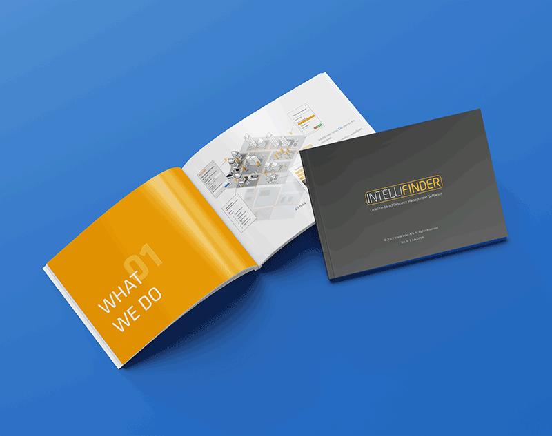 IntelliFinder brochure design