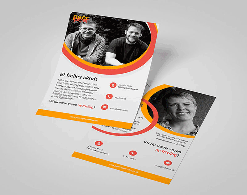 Peer to Peer Odense branding design