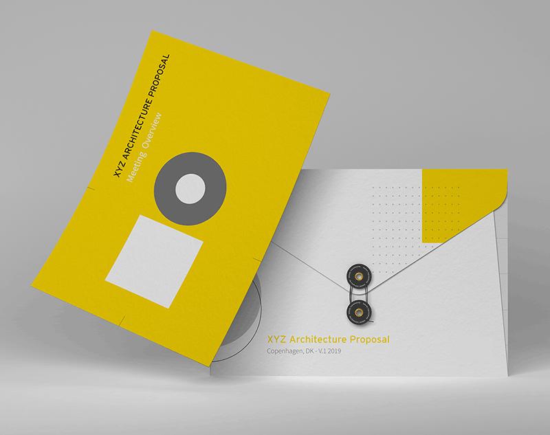 Pursuit proposal brochure design