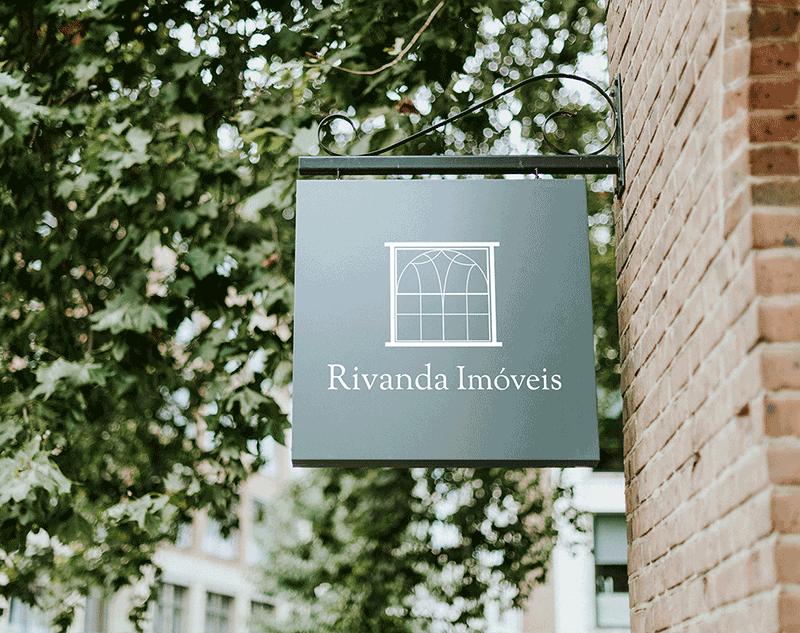 Rivanda Imóveis logo creation