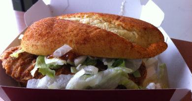 McDonald's Chicken & Chutney Indian